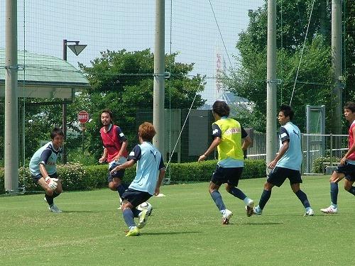 ジュビロ磐田 練習