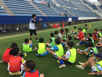 明治安田生命浜松支社子どもサッカー教室